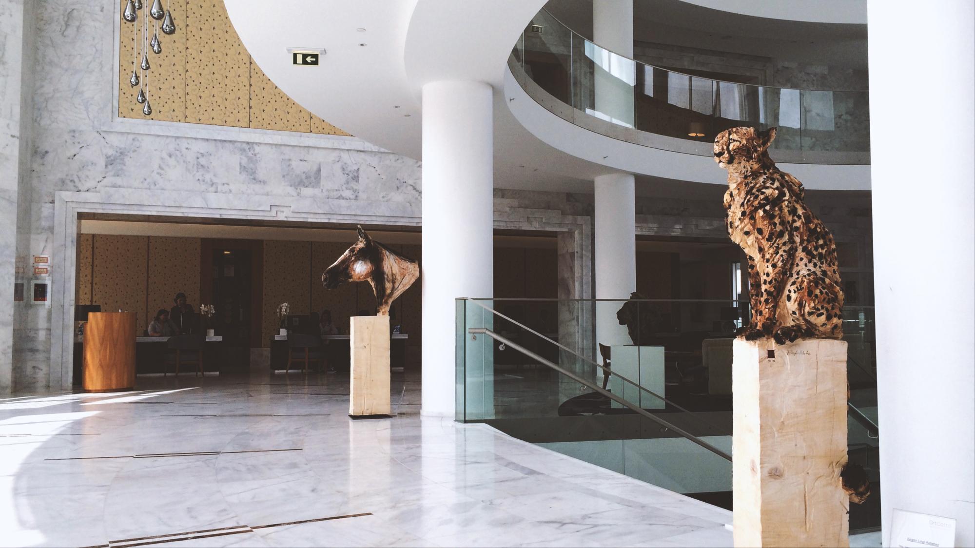 ArtCatto exhibition Conrad Hotel Algarve 2017